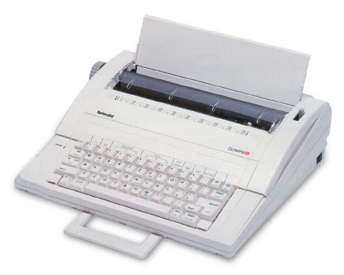 Máy đánh chữ olympia splendid