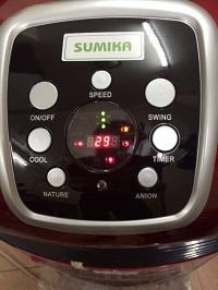 Màn hình quạt hơi nước Sumika D701
